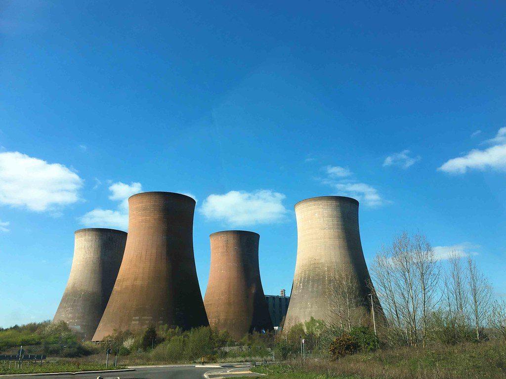 cómo frenar el cambio climático, central de carbón